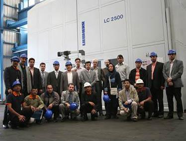 بازدید مدیران صنعت فولاد از بزرگترین کارخانه ELECON